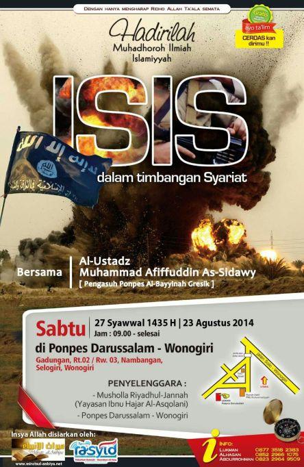 Dauroh ISIS Wonogiri